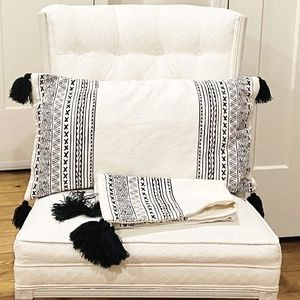 Large H&M Boho Pillow Covers